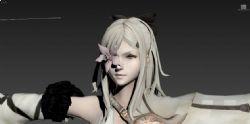 龙背上的骑兵Zero洁萝,女主角模型
