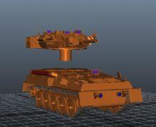 装甲坦克车