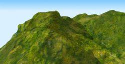 山势,山脉3D模型