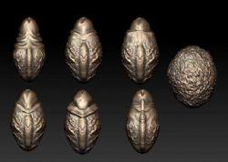 生命之源-男生殖器雕刻