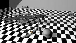 巴雷特,军刀,军帽maya模型