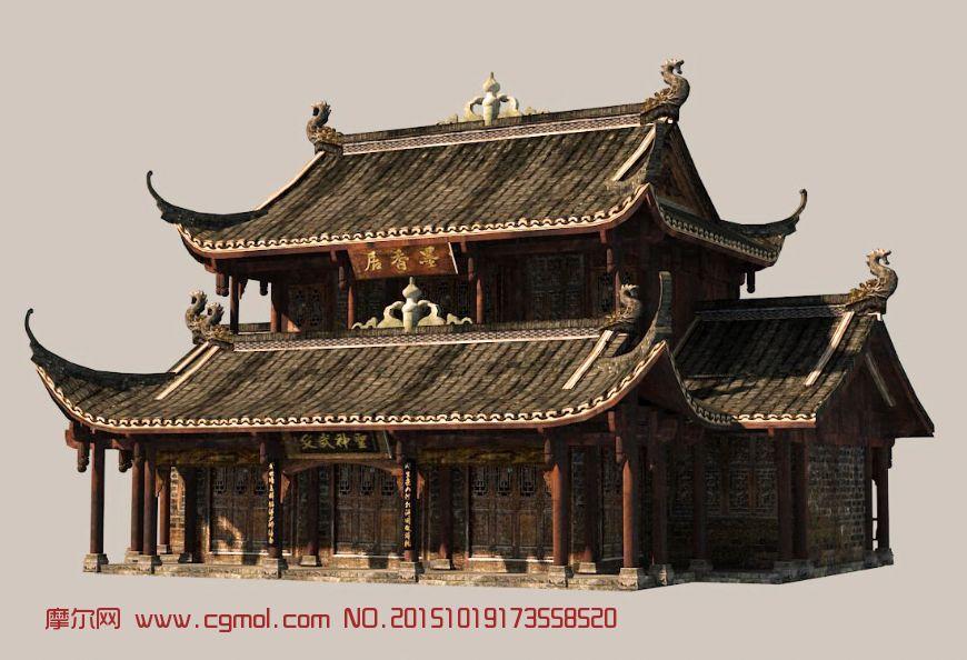 中式房子图片