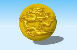 金龙球3D模型