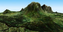 岩山3D模型