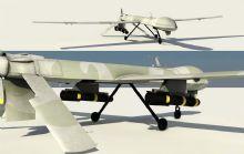 影视动画级效果捕食者无人机,次世代模型,4K高清贴图