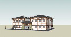 博物馆,汉式建筑