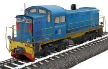 俄罗斯内燃机车 调机 TGM3型
