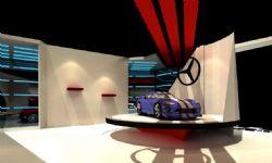 汽车展厅,速度与激情