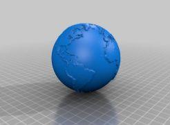 地球-可3D打印
