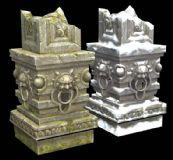 石柱,斗战神一个场景小物件