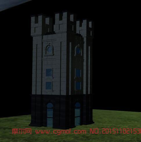 阁楼,碉堡建筑