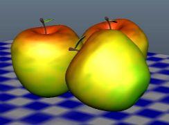 小白做的苹果