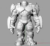 升级版钢铁侠,可3D打印