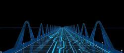 �r光隧道,科技感,未�硗ǖ�,科幻世界