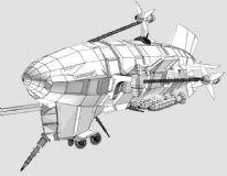红警基洛夫飞艇