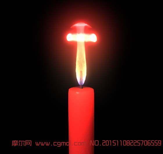 蜡烛maya动画