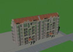 原创住宅建筑模型