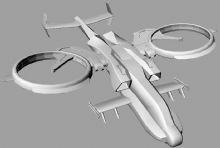 《阿凡达》天蝎座武装直升机,3D打印