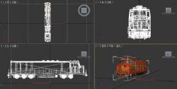 DF4DD内燃机车