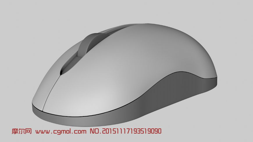 鼠标c4d模型