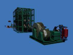 矿用索车等一系列道具,maya2013 模型
