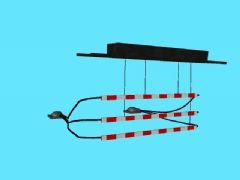 索车护栏maya模型