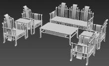 战国椅,中式家装