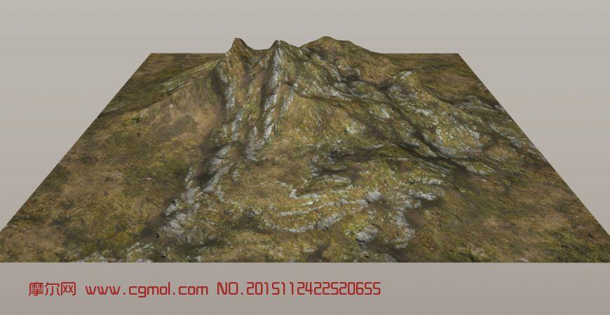 山地3D模型