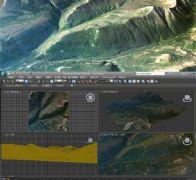 大山野,山沟峡谷3D模型