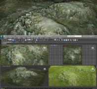 石山,山峰3D模型