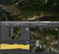 山岭残雪3D模型