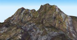 山势,山峰3D模型