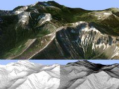 石山初雪3D模型