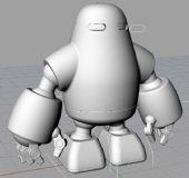 自创机器人