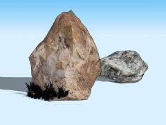 草石3D模型