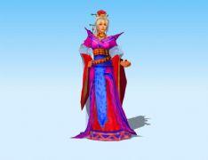 古装贵妇3D模型