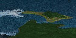 跨海大桥,神秘之岛3d模型