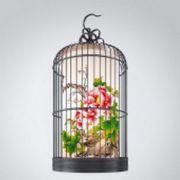 鸟笼形状的吊灯
