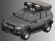 丰田land cruiser兰德酷路泽3D模型