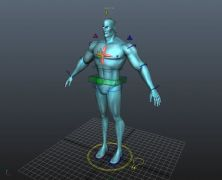 Captain Atom RIG w.textures Maya 2015