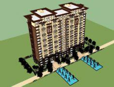 高层联排住宅小区