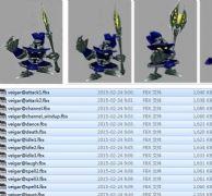 英雄联盟邪恶小法师带动画,fbx格式