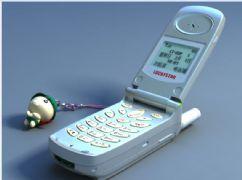手机,没有图中的手机吊坠