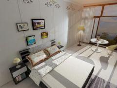 现代风格为主的温馨家居卧室,V-ray材质贴图