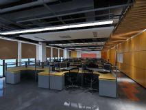 办公区建模