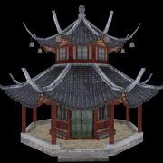 中式八角亭