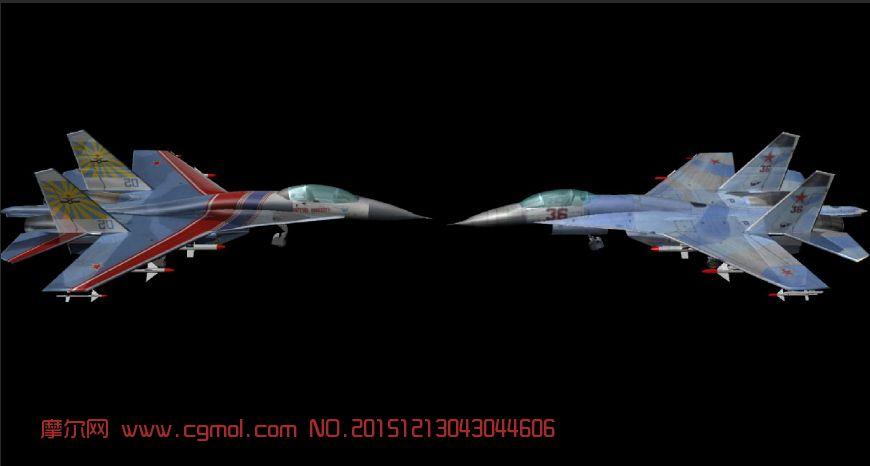 苏27战斗机