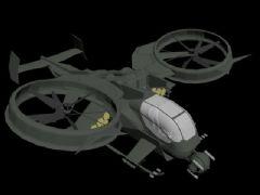 垂直直升机,战机模型