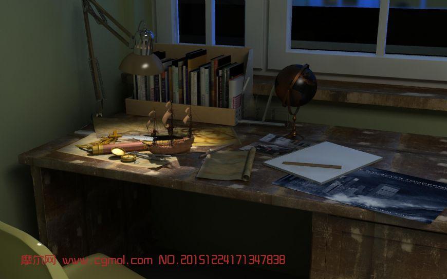 书屋,书桌,书房