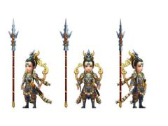 q版古代神话人物二郎神max模型